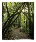 Jungle Trail Fleece Blanket