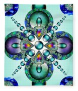 Kaleidoscope Fleece Blanket
