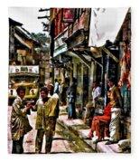 Kathmandu  Fleece Blanket