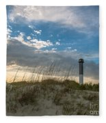 Sc Lighthouse View Fleece Blanket