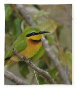 Little Bee-eater Fleece Blanket