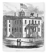 Massachusetts Salem, 1851 Fleece Blanket