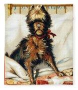 Medicine Trade Card, C1880 Fleece Blanket