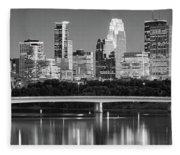 Minneapolis Mn Fleece Blanket