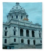 Minnesota State Capitol Fleece Blanket