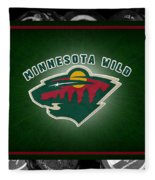 Minnesota Wild Fleece Blanket