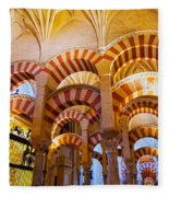 Mosque-cathedral In Cordoba Fleece Blanket