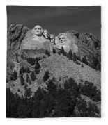 Mount Rushmore Fleece Blanket