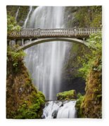Multnomah Falls Fleece Blanket