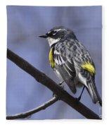 Myrtle Warbler Fleece Blanket