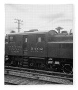 New York Central Railroad Fleece Blanket