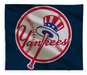 New York Yankees Uniform Fleece Blanket