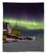 northern Lights iceland Fleece Blanket