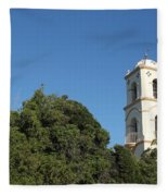 Ojai Post Office Tower Fleece Blanket