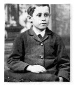 Orville Wright (1871-1948) Fleece Blanket