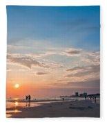 Panama City Florida Fleece Blanket