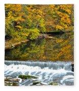 Panoramic Beauty Fleece Blanket