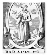 Paracelsus (1493-1541) Fleece Blanket