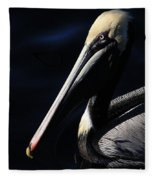 Pelican Profile Fleece Blanket