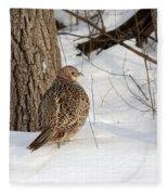 Pheasant Fleece Blanket