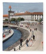 Ponta Delgada - Azores Fleece Blanket