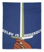 Poster Health, C1937 Fleece Blanket