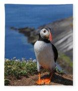 Puffin Fleece Blanket