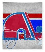 Quebec Nordiques Fleece Blanket