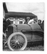 Race Car, 1914 Fleece Blanket