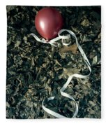 Red Balloon Fleece Blanket
