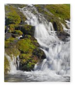 River San Juan  Fleece Blanket