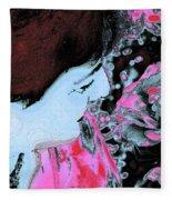 Rose Aroma Fleece Blanket