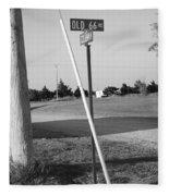 Route 66 - Oklahoma Fleece Blanket