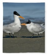 Royal Terns Fleece Blanket