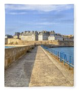 Saint-malo - Brittany Fleece Blanket