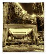 Saint Paul Hotel Fleece Blanket