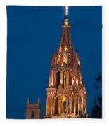 San Migel De Allende, Mexico Fleece Blanket