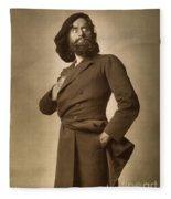 Sir Herbert Beerbohm Tree Fleece Blanket