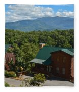 Smoky Mountain Cabins Fleece Blanket