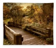 Splendor Bridge Fleece Blanket