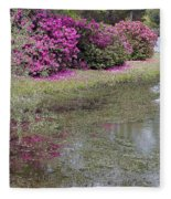 Spring In Mississippi Fleece Blanket