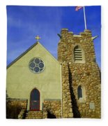 St. Andrews-by-the-sea Fleece Blanket
