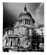 St Pauls Cathedral London Art Fleece Blanket