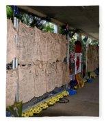 Steve Irwin Memorial Fleece Blanket