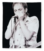 Steve Marriott - Humble Pie At The Cow Palace S F 5-16-80  Fleece Blanket