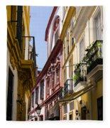 Streets Of Seville - Magic Colours Fleece Blanket