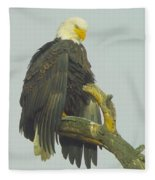Stretching The Wings  Fleece Blanket