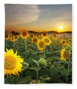 Summer Morning Fleece Blanket