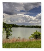 3-summer Time At Moraine View State Park Fleece Blanket