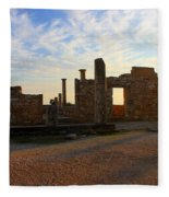 Temple Of Apollo Fleece Blanket